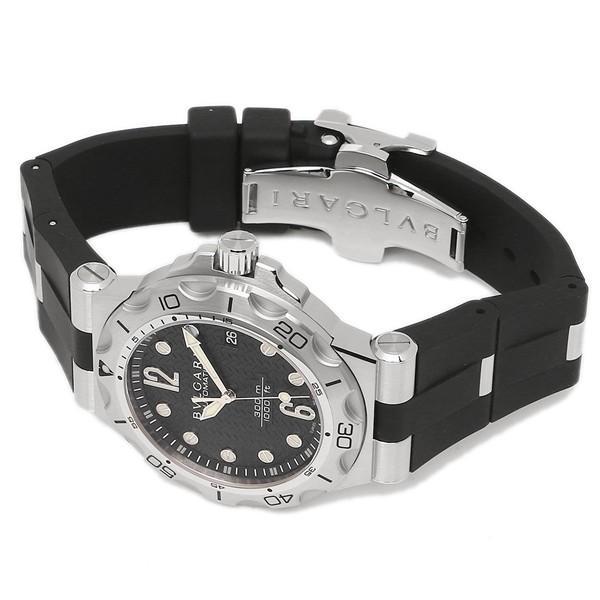 BVLGARI 腕時計 メンズ ブルガリ DP42BSVDSDVTG ブラック シルバー|1andone|06