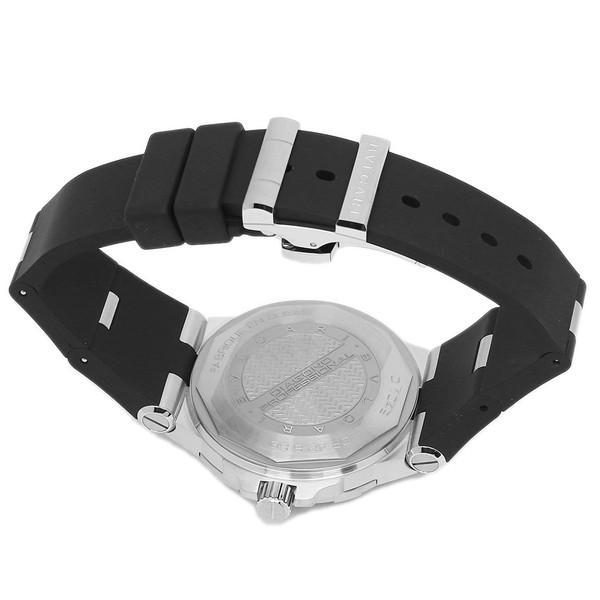 BVLGARI 腕時計 メンズ ブルガリ DP42BSVDSDVTG ブラック シルバー|1andone|07