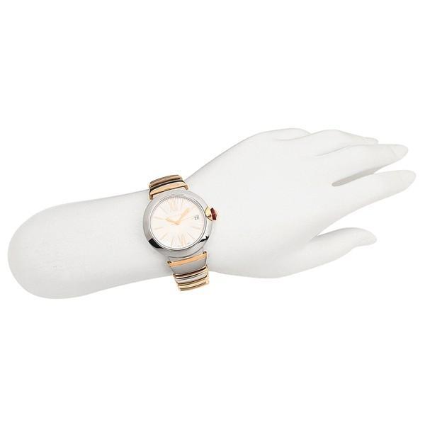 ブルガリ 腕時計 レディース 自動巻き BVLGARI LU36C6SSPGD ピンクゴールド シルバー