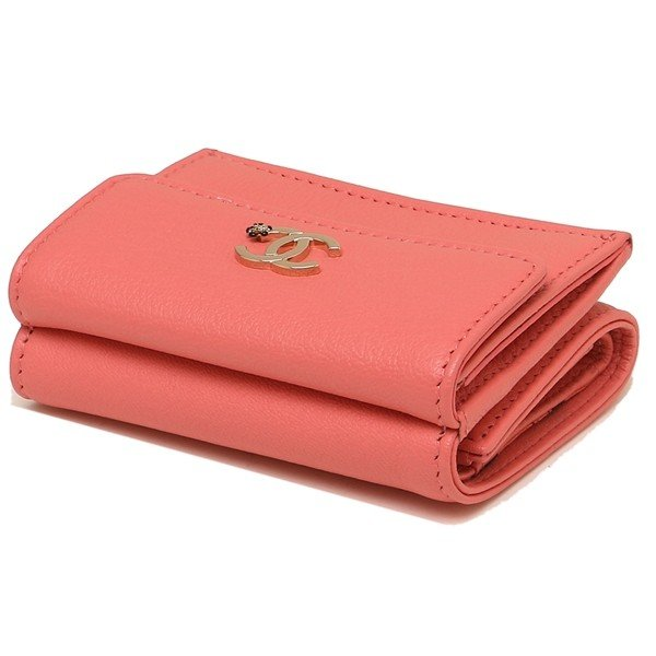 シャネル 折財布 レディース CHANEL A81651 Y33399 K1115 ピンク|1andone|07