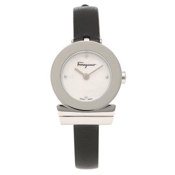 フェラガモ 腕時計 レディース Salvatore Ferragamo F43050017 シルバー レッド パール