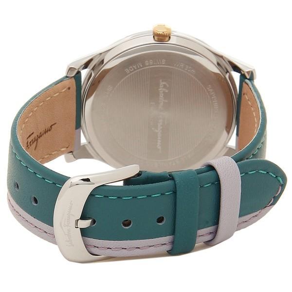 フェラガモ 腕時計 レディース Salvatore Ferragamo SFDF00118 グリーン シルバー
