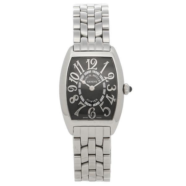 フランクミュラー 腕時計 レディース FRANCK MULLER 1752QZOAC シルバー ブラック|1andone