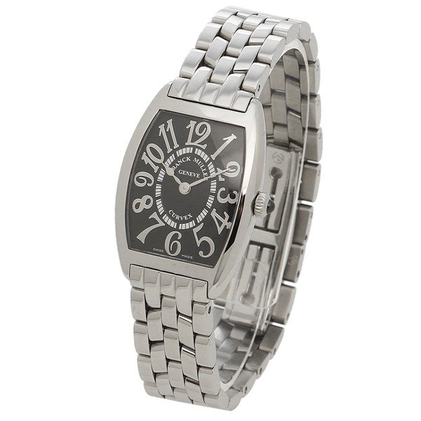 フランクミュラー 腕時計 レディース FRANCK MULLER 1752QZOAC シルバー ブラック|1andone|05