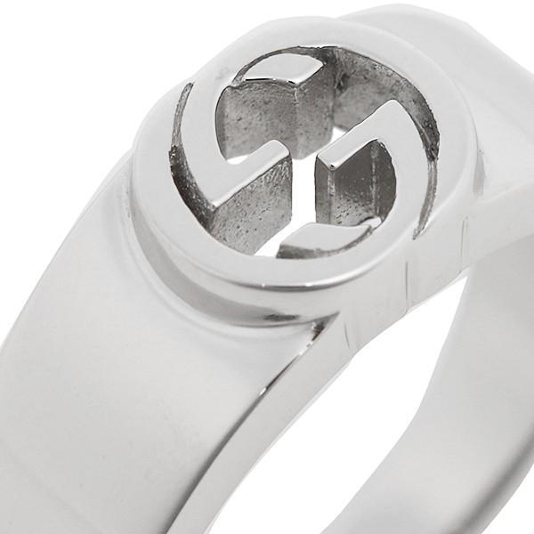 グッチ GUCCI 指輪 リング アクセサリー レディース GUCCI 374666 J8400 0702 インターロッキングG 指輪 シルバー|1andone|02