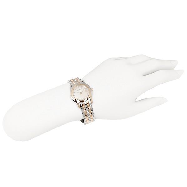 グッチ GUCCI 時計 レディース 腕時計 グッチ 時計 GUCCI Gクラス 腕時計 YA055535 ウォッチ ホワイトパール/シルバー/ピンクゴールド