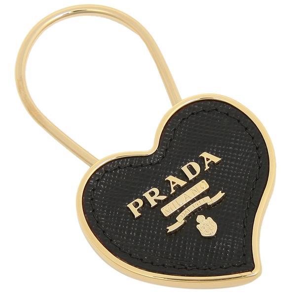 PRADA キーホルダー レディース プラダ 1PP047 053 F0002 ブラック