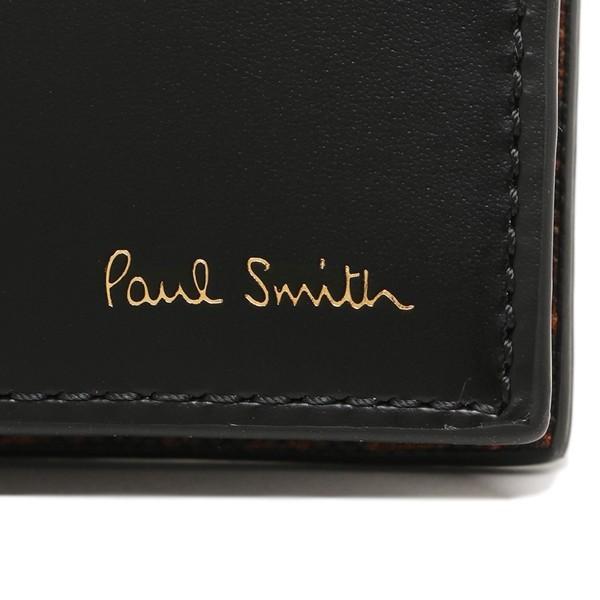 ポールスミス メンズ 折り財布 PAUL SMITH 4832 W856 79 マルチ|1andone|06
