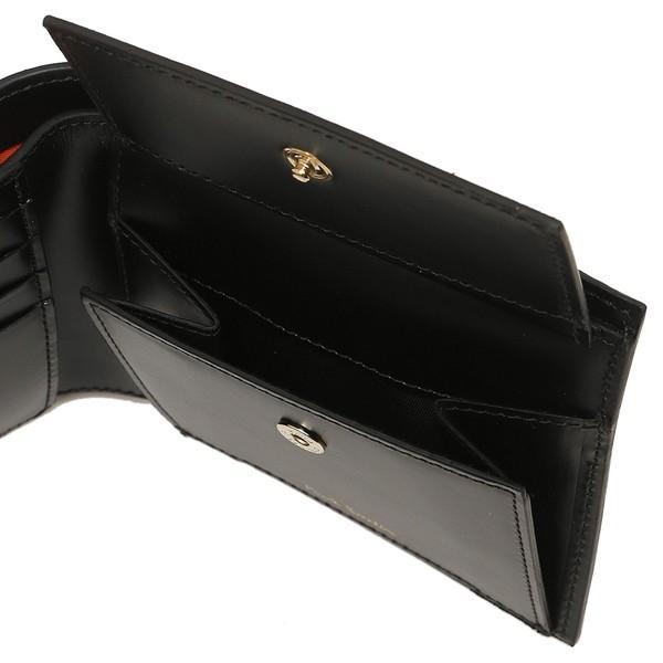 ポールスミス 折財布 メンズ PAUL SMITH 4833-A40042 79 ブラック マルチカラー|1andone|04