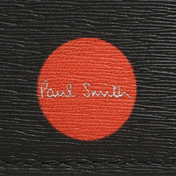 ポールスミス 折財布 メンズ PAUL SMITH 4833-A40042 79 ブラック マルチカラー|1andone|06