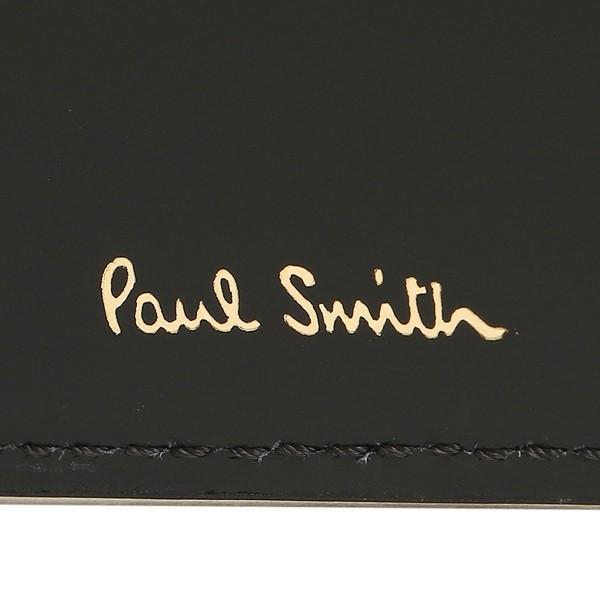 ポールスミス 折財布 メンズ PAUL SMITH 4833-A40042 79 ブラック マルチカラー|1andone|08