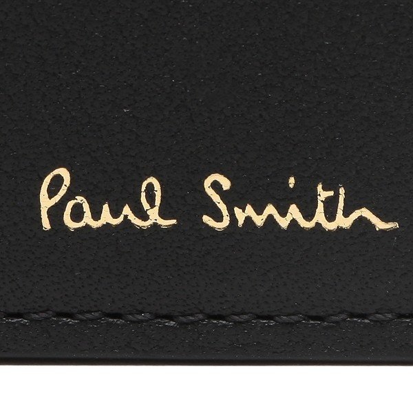 ポールスミス 折財布 メンズ PAUL SMITH 4833 A40191 79 ブラック|1andone|06