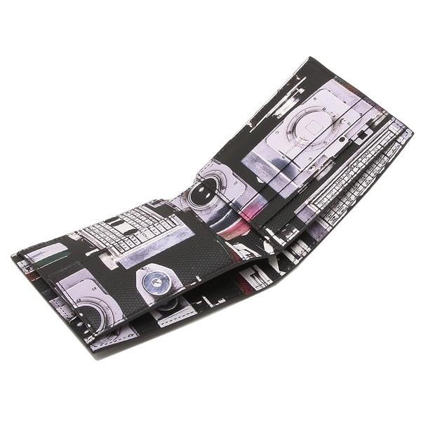 ポールスミス 折財布 メンズ PAUL SMITH 4833 A40245 PR ブラック マルチカラー|1andone|02