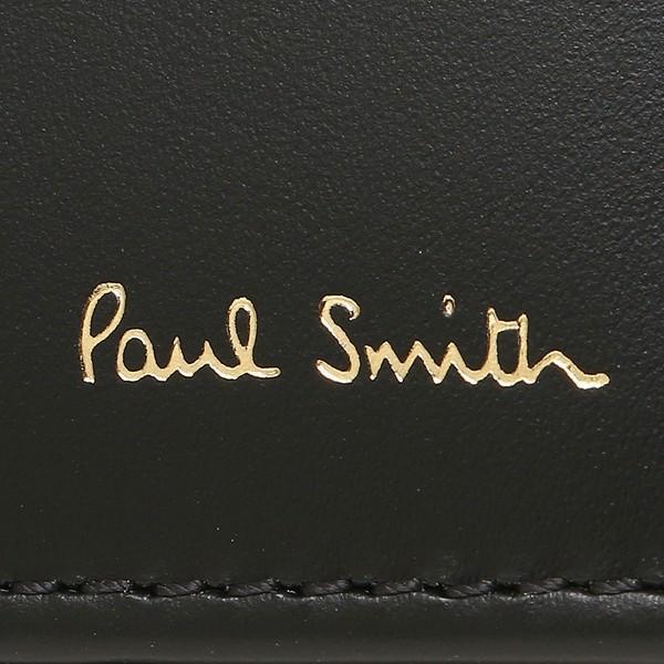 ポールスミス 折財布 メンズ PAUL SMITH 4833-AMULTI 79 ブラック マルチカラー|1andone|06