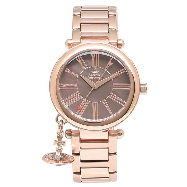 ヴィヴィアンウエストウッド 腕時計 レディース VIVIENNE WESTWOOD VV006PBRRS ローズゴールド 1andone