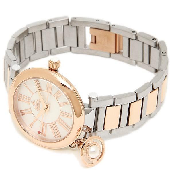 ヴィヴィアンウエストウッド 時計 レディース VIVIENNE WESTWOOD VV006PRSSL MOTHERORB 腕時計 ウォッチ ホワイトパール/ピンクゴールド/シルバー|1andone|06