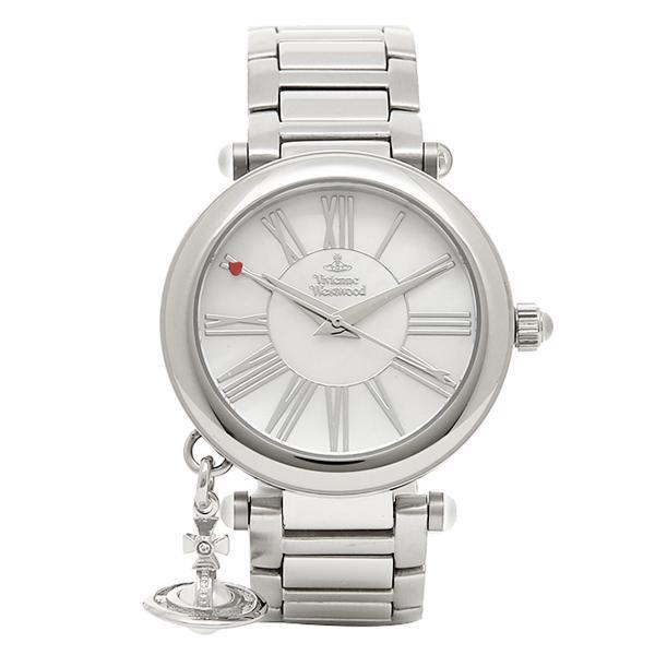 ヴィヴィアンウエストウッド 時計 レディース VIVIENNE WESTWOOD VV006PSLSL MOTHERORB 腕時計 ウォッチ ホワイトパール/シルバー|1andone