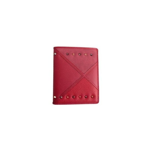 AWESOME(オーサム) パスポートケース アワーグラスシリーズ レッド ASPC-HG06