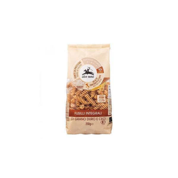 (同梱・代引き不可)アルチェネロ 有機ファイバー&プロテインフジッリ (全粒粉とヒヨコ豆) 250g 20個セット C6-46