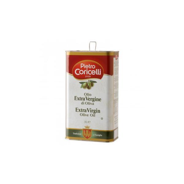 (同梱・代引き不可)ピエトロコリチェッリ エキストラヴァージンオリーブオイル 3000ml 4缶セット 31
