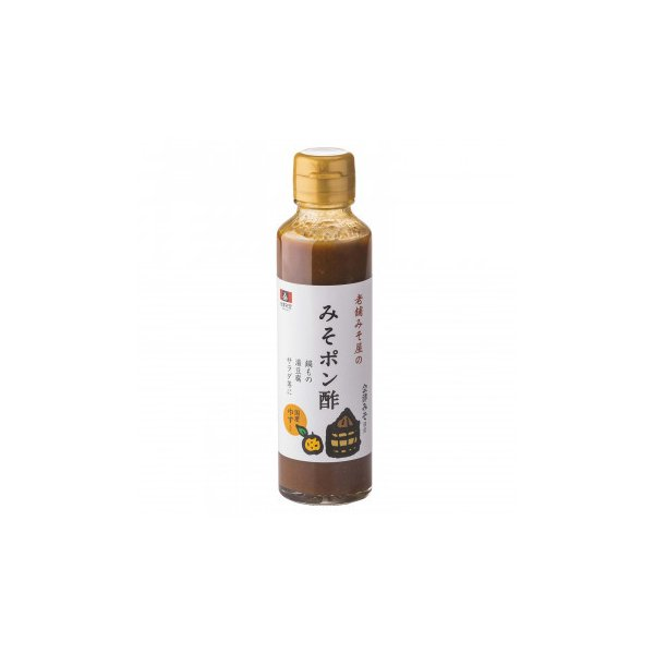 (同梱・代引き不可)会津天宝 老舗みそ屋のみそポン酢 150ml ×12本セット