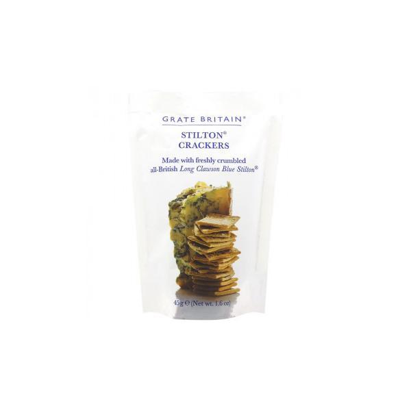 (同梱・代引き不可)アーティザン グレイトブリテン ブルーチーズ クラッカー 45g 20セット