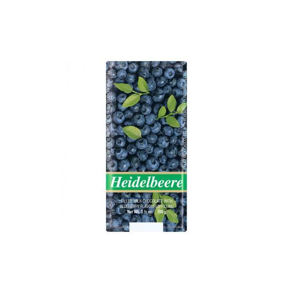 (同梱・代引き不可)ワインリッヒ ミルクチョコレート ブルーベリー 100g 120セット
