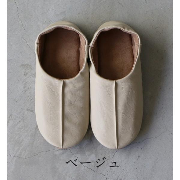 sarasa design サラサデザイン Maestro room shoes for lady 女性用ルームシューズ Leather メール便不可 スリッパ レザー スエード レディース|1em-rue|02