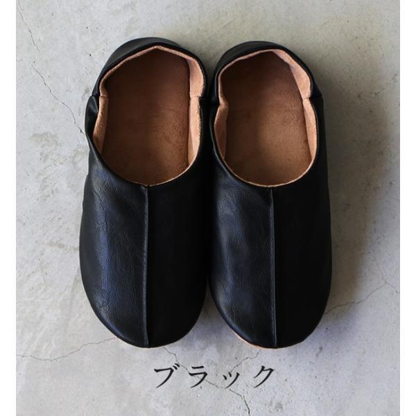 sarasa design サラサデザイン Maestro room shoes for lady 女性用ルームシューズ Leather メール便不可 スリッパ レザー スエード レディース|1em-rue|04