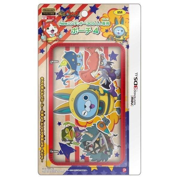 プレックス PLEX 妖怪ウォッチ new NINTENDO 3DSLL 専用 ポーチ4 USAVer.  YW-56B|1enakans