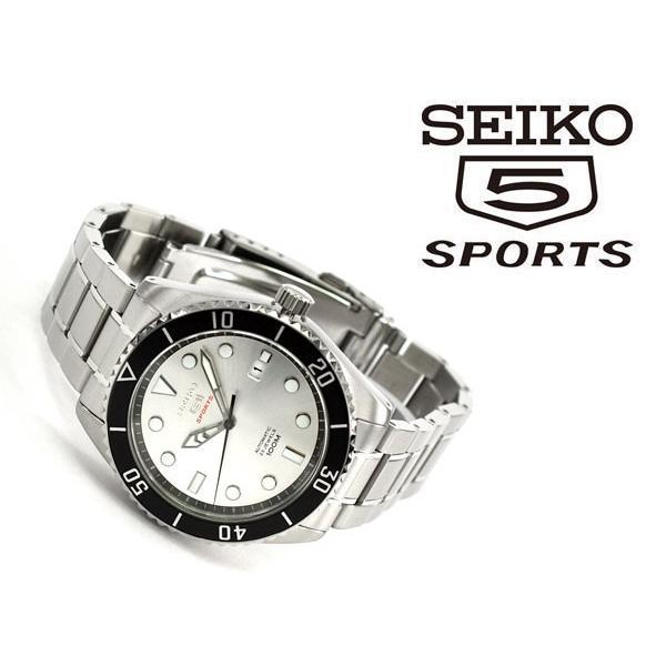 eaaa0a30ca ... 日本製 逆輸入 SEIKO5 SPORTS セイコー5スポーツ 自動巻き 手巻き付き 機械式 メンズ ...