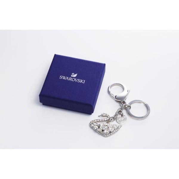 a8b803e3445bcf のし・包装不可 スワロフスキーSignature Collection SWAN LAKE BAG CHARM & KEY RING ...