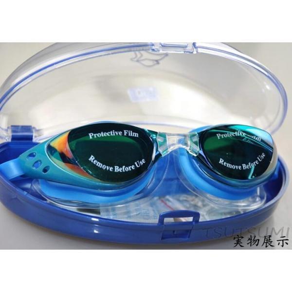 ミラーゴーグル スイムゴーグル くもり止め UVカット スイミングゴーグル 大人用 水泳 シンプルデザイン ゴーグル 水中メガネ 水中眼鏡 競泳|2015fukuya|14
