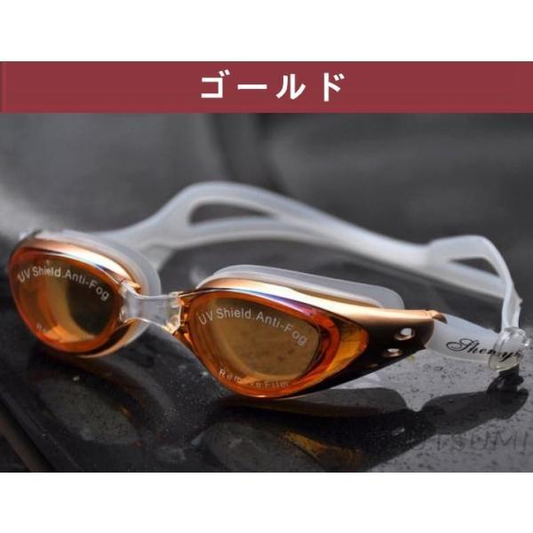 ミラーゴーグル スイムゴーグル くもり止め UVカット スイミングゴーグル 大人用 水泳 シンプルデザイン ゴーグル 水中メガネ 水中眼鏡 競泳|2015fukuya|05
