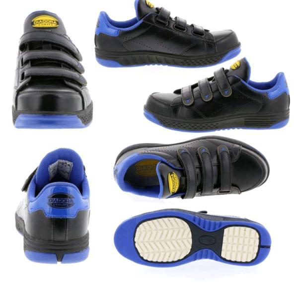 安全靴 プロスニーカー ディアドラ DIADORA ドンケル DONKEL KEA ケア KE16 KE24 マジックテープ タイプ 軽量 耐滑|21248|03