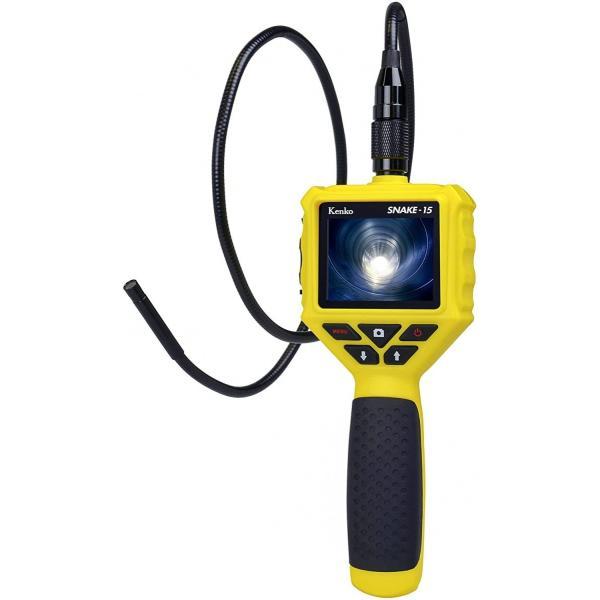Kenko デジタルスネイクカメラ SNAKE-15 LEDライト付き 防水 SNAKE-15 434789 21taiyo