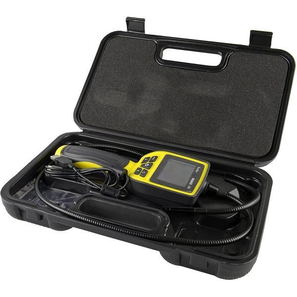 Kenko スネイクカメラ SNAKE-16 防水フレキシブルチューブ 2.5インチモニター LEDライト付き 434994|21taiyo|05