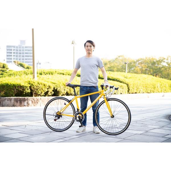 自転車 ロードバイク 700 シマノ製14段変速   送料無料 スポーツ 街乗り|21technology|16