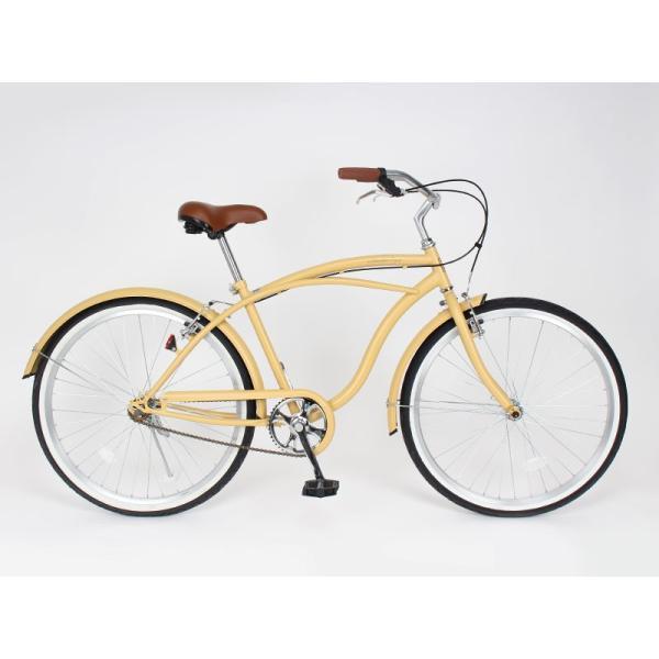 【20日限りの10%OFFクーポン発行中】送料無料 自転車 ビーチクルーザー 26インチ 【BC260-2019】 2019年新型|21technology|02