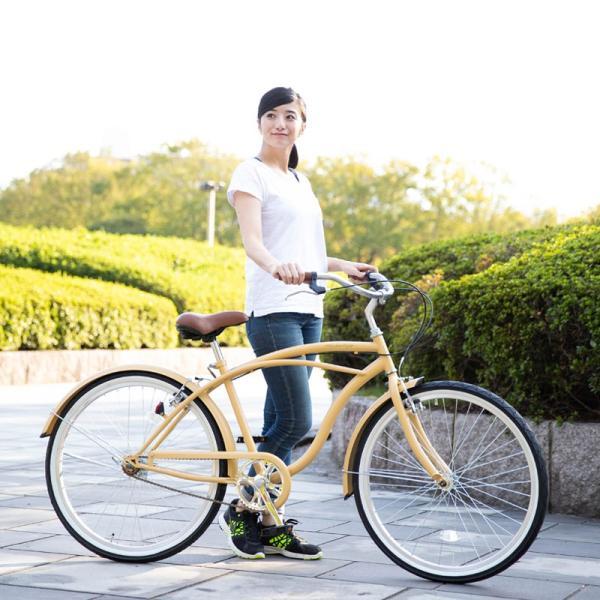 【20日限りの10%OFFクーポン発行中】送料無料 自転車 ビーチクルーザー 26インチ 【BC260-2019】 2019年新型|21technology|12