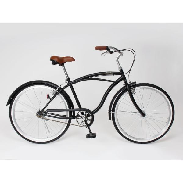 【20日限りの10%OFFクーポン発行中】送料無料 自転車 ビーチクルーザー 26インチ 【BC260-2019】 2019年新型|21technology|03