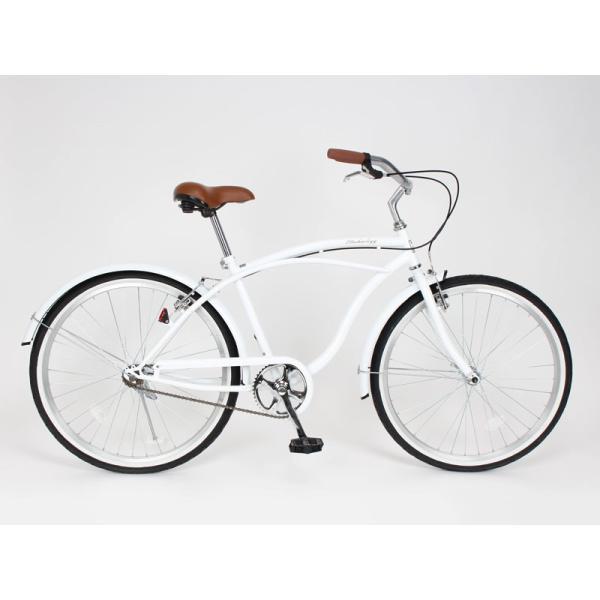 【20日限りの10%OFFクーポン発行中】送料無料 自転車 ビーチクルーザー 26インチ 【BC260-2019】 2019年新型|21technology|04