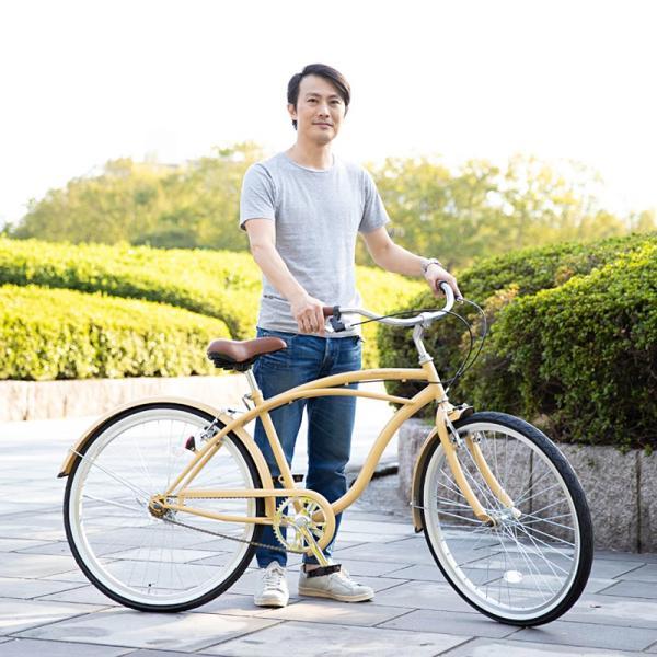 【20日限りの10%OFFクーポン発行中】送料無料 自転車 ビーチクルーザー 26インチ 【BC260-2019】 2019年新型|21technology|08