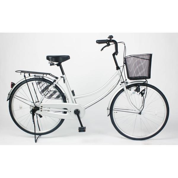 自転車 ママチャリ シティサイクル MC240-N 24インチ 本体 東京都・神奈川県・千葉県・埼玉県限定|21technology|03