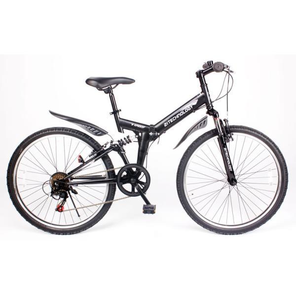 自転車 マウンテンバイク MTB266 折りたたみ シマノ製6段変速付き 26インチ|21technology|02