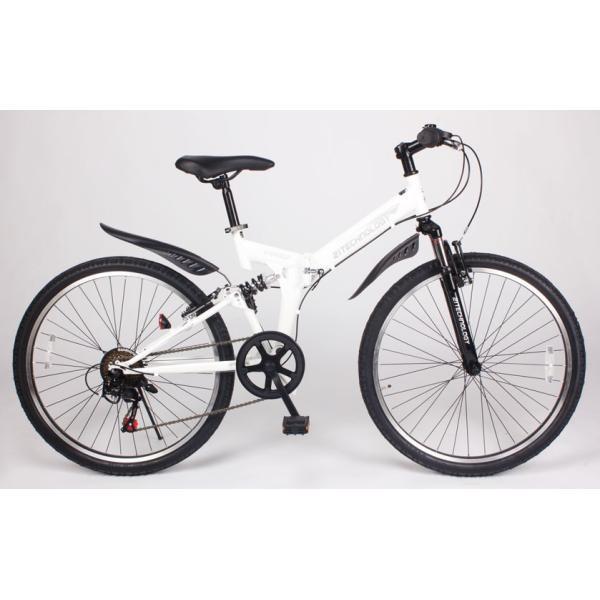 自転車 マウンテンバイク MTB266 折りたたみ シマノ製6段変速付き 26インチ|21technology|03