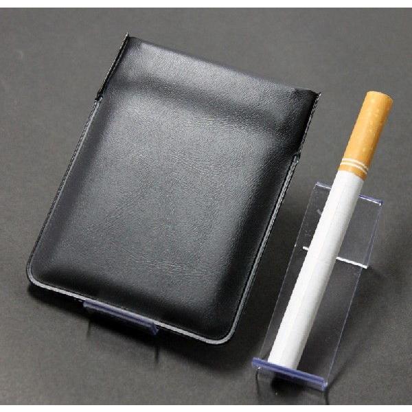 携帯灰皿 携帯くず入れ  ポケット灰皿 ちっポケmini 黒無地1個