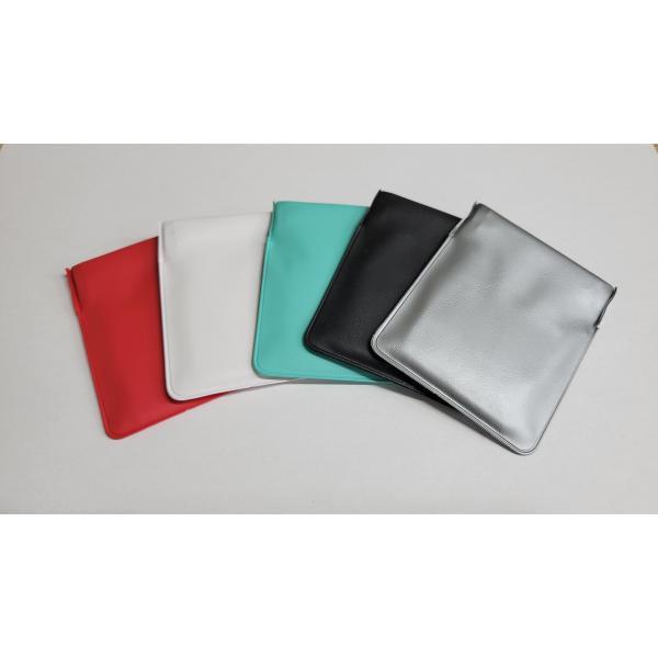 携帯灰皿 携帯くず入れ  ポケット灰皿 ちっポケレギュラーサイズ白・黒・銀・赤・緑・青6個セット