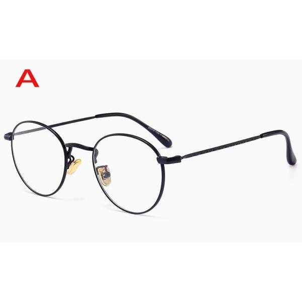 PCメガネ 丸型 ブルーライト カット メガネ 度なし おしゃれ パソコン用メガネ ブルーライトカット PC メガネ PC眼鏡 PCメガネ|24store|02