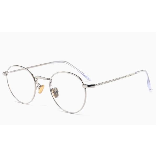 PCメガネ 丸型 ブルーライト カット メガネ 度なし おしゃれ パソコン用メガネ ブルーライトカット PC メガネ PC眼鏡 PCメガネ|24store|12